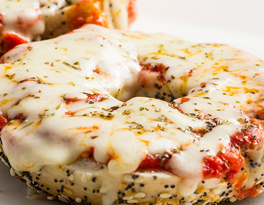 Pizza-Bagel